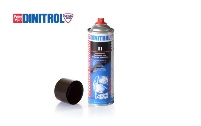 DINITROL 81 protect metal finished surfaces corrosion protection steel storage transparent smearless film lacquered surfaces UK