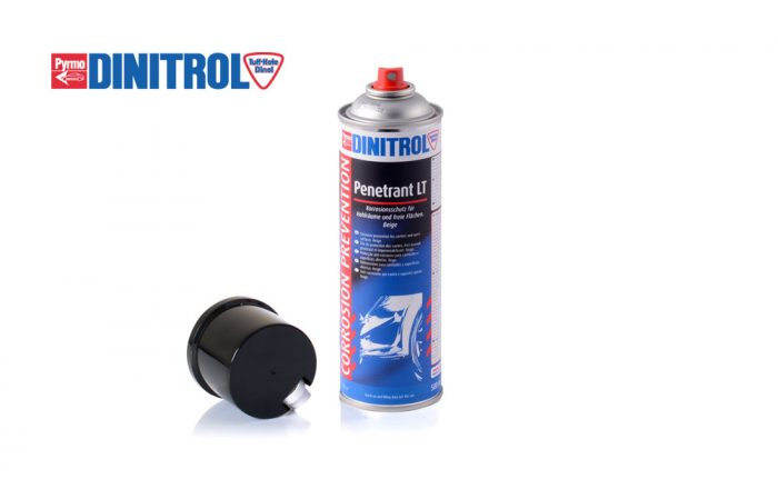 DINITROL Penetrant LT cavity wax ideal for classic cars, passenger cars, 4x4, landrover and protecting open surfaces from rust