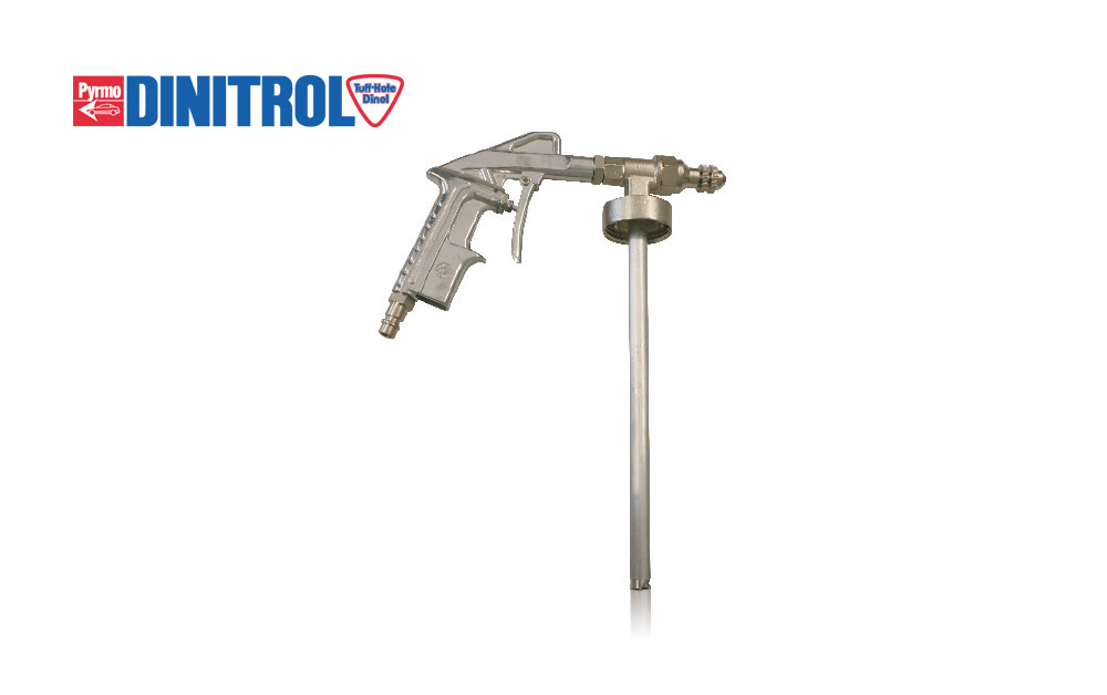 DINITROL-Spray-tool-UBS-DINITROL-Ejector-Underbody-Spray-Gun-airmix-applications-one-litre-threaded-neck-containers-rustproofing-underbody-chassis-coating