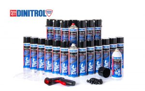 DINITROL rust proofing car kits corrosion protection rust treatment underbody chassis rust convertor 3125 4941 motorhomes large vans commercial transits aerosol extra large kit