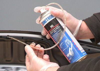 dinitrol ml penetrating cavity wax injection second hand cars classic cars product application demonstration guide tutorial vehicle restoration rustproofing