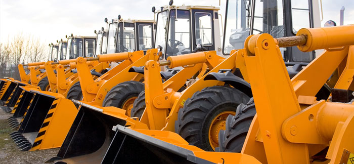 Construction Machinery & Construction industry vehicle corrosion protection with vehicle underbody chassis coatings, Construction Machinery DINITROL rust treatments and OEM approved rust convertors