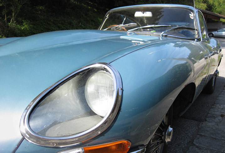 Jaguar car rust proofing british iconic sports car e-type malcolm sayer wiliam walmsley heritage rust prevention chassis protection