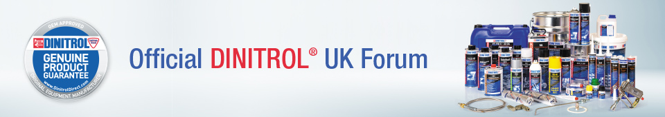 official dinitrol uk forum rustproofing treatment centre corrosion protection underbody chassis coating cavity waxes rust treatments underseal car