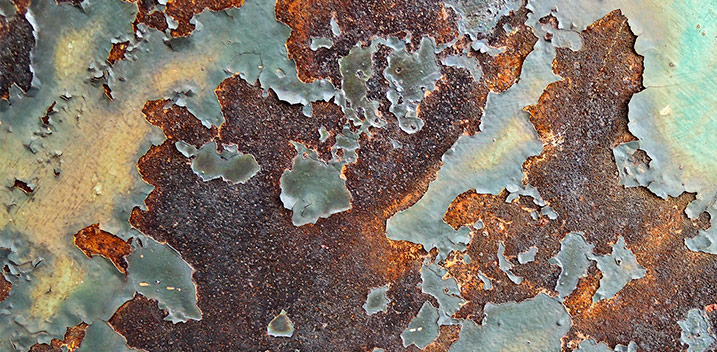 rust treatment with rust converter stop corrosion surface area preparation remove all rust and paint flakes protective barrier rusting corroded ferrous substrates