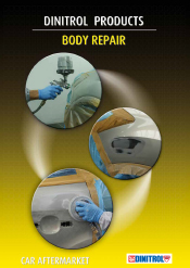 DINITROL® Automotive Body Repair including glass fibre filler, aftermarket refinish vehicle body repair