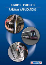 DINITROL® Railway Applications with underbody chassis corrosion protection, bonding, sealing and direct glazing adhesives Offical INITROL® UK website