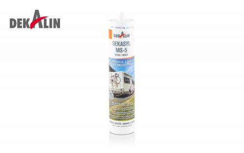 Dekasyl MS-5 High Tack Adhesive & Sealant MS polymer based for caravans, motorhomes industry maintenance, repair, fitting vehicle