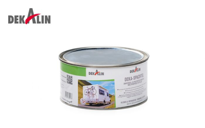 Dekaspachtel Multi-purpose Filler caravans, motorhomes RVs 2k polyester repair filler