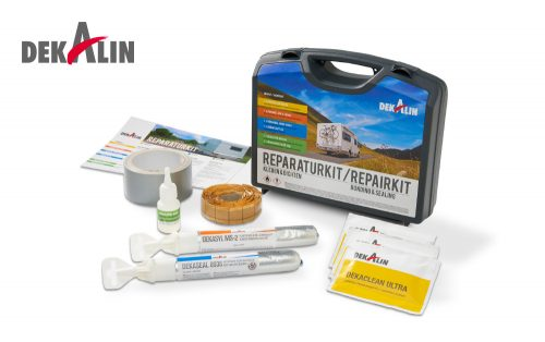 Dekalin Repair Kit First aid on board your caravan or camper repair leaks while travelling