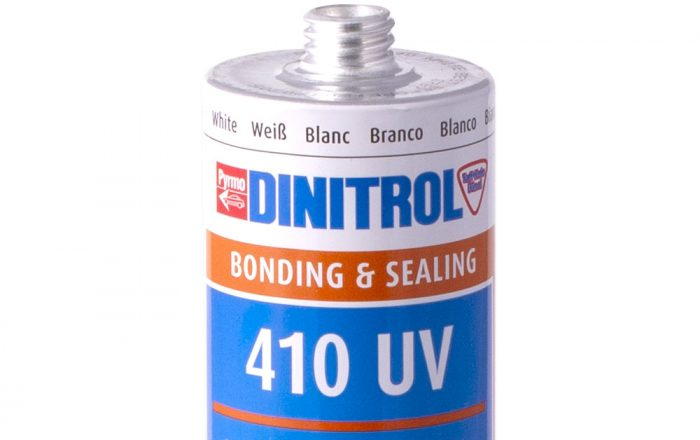 DINITROL 410 UV sealant adhesive car sunroofs auto windscreen replacement repair vehicle direct glazing products dinitrol uk
