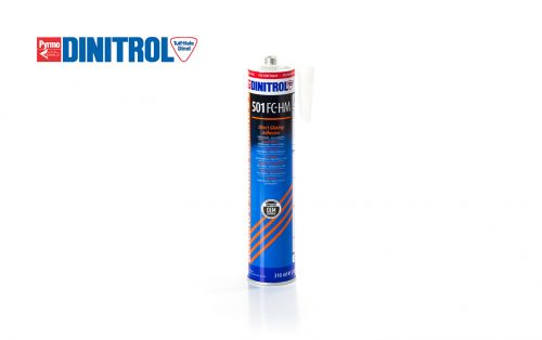 DINITROL 501 FC HM automotive windscreen replacement direct glazing sealant, bonding adhesive used in auto glass repair industry