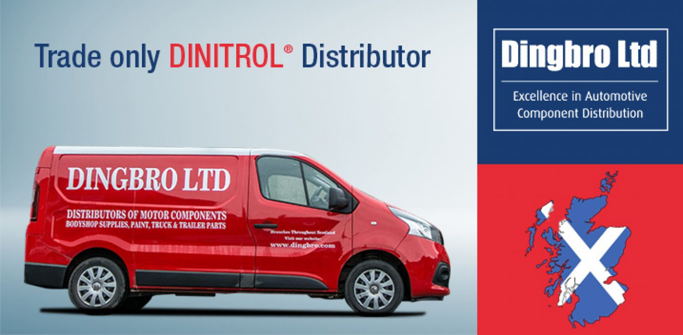 DINITROL DingBro Scotland trade distributor dingwall aberdeen largest independent automotive parts supplier scotland dinitrol distributor uK