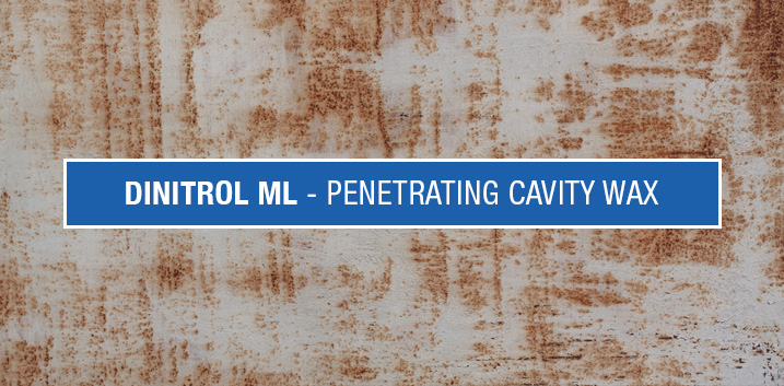 DINITROL ML cavity wax Vehicle penetrating rustproofing coating dinitrol spray diagram rust treatment prevention uk centres