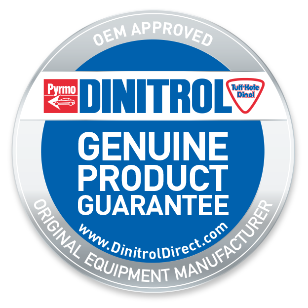 dinitrol treatment centre rustproofing for land rover, 4x4 off road, SUV and classic car restoration