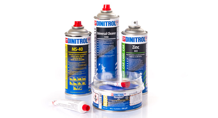 DINITROL vehicle body repair products including body fillers, specialist coatings, alluminium filler and automotive bodyshop solutions aftermarket refinish