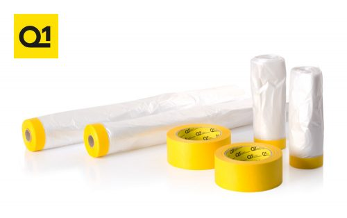 DINKIT3 dintrol masking kit Q1 Roll Premium Masking Drop Tape Masking Tape dinitrol kit deal vehicle body repair rustproofing chassis car aftermarket