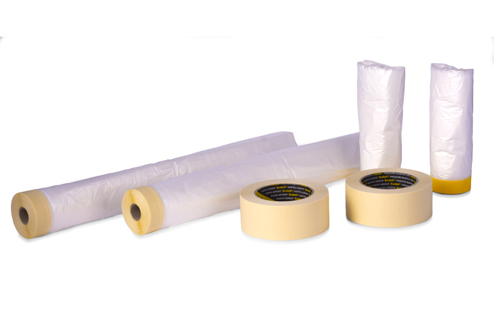 Buy Q1 masking kit bundle including masking tape and masking drop tape for vehicle paint respray or rustproofing chassis