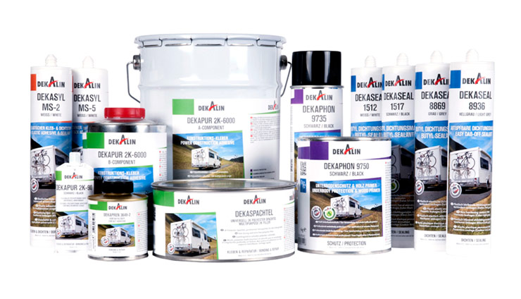 Dekalin-product-range-motorhome-caravan-sealants-repair-bonding-corrosion-protection-uk-dinol-dinitrol-UK