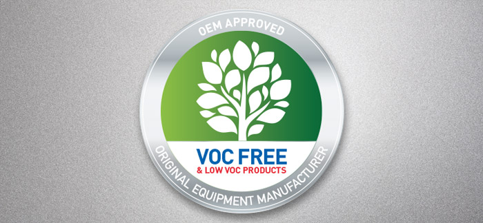 VOC FREE, Low VOC water-soluble stone chipping and underbody protection along with waterborne solvent-free wax dispersion