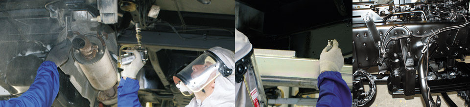 Become a DINITROL affiliated treatment centre for commerical vehicles, cars, 4x4 off road vehicles and classic cars with corrosion protection, rust treatments and rust proofing coatings