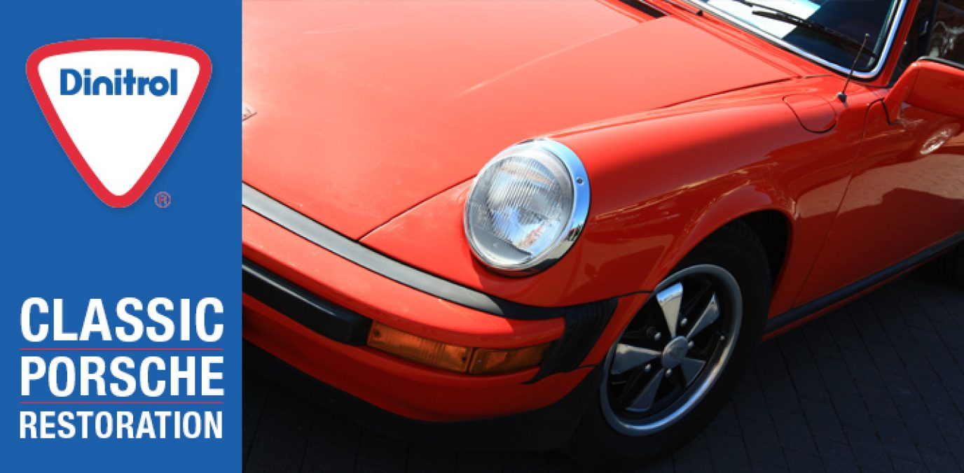 classic porsche club great britain dinitrol ML cavity wax for classic porsche restoration projects frankfurt porsche 911 owners
