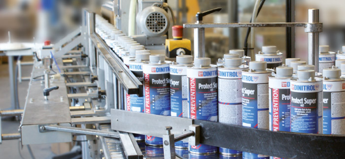 Brand history DINITROL produce OEM approved products for automotive and industrial vehicle manufacturers