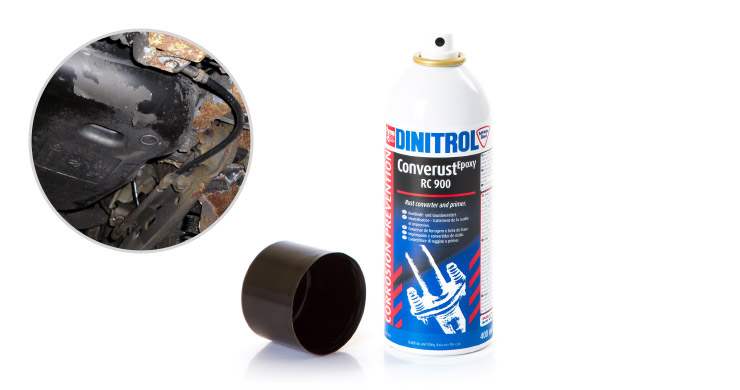 dinitrol diy rustproofing kit addon dinitrol rc900 rust converter converts rust into stable organic iron complex prevents further corrosion