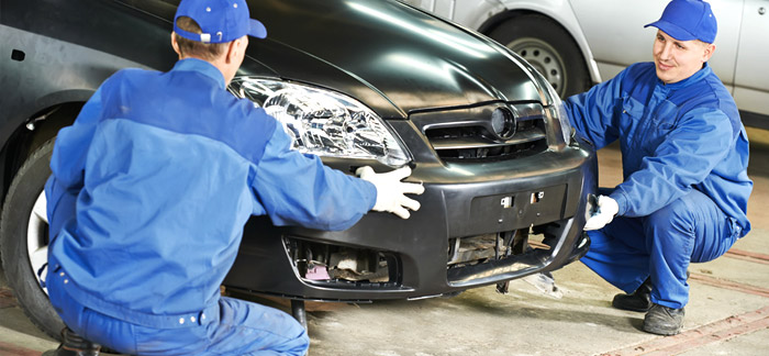 Automotive bonding and sealing Repair broken plastic parts, such as vehicle bumpers, spoilers, lights and front grills