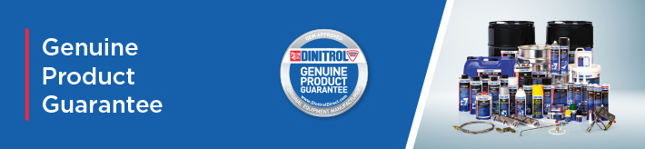 genuine product guarantee dinitrol vehicle industrial automotive oem approved corrosion protection bonding sealing body repair specialist paints rust converter underbody