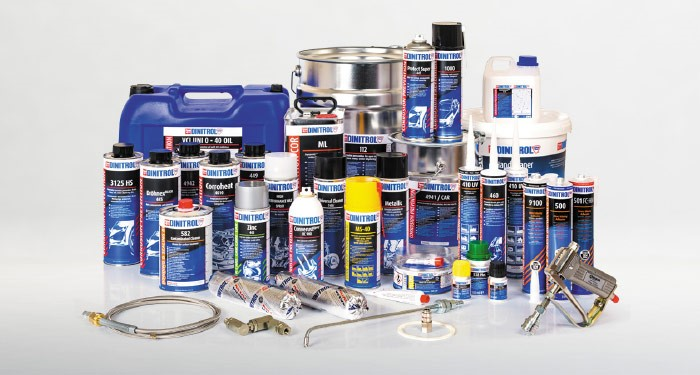 Official DINITROL UK shop for vehicle corrosion protection, cavity waxes, rust treatment and dinitrol DIY rustproofing kits. Also buy DINITROL vehicle repair and automotive direct glazing adhesives, sealants and bonding ideal for classic car, land rover, 4x4 and commercial vehicles.