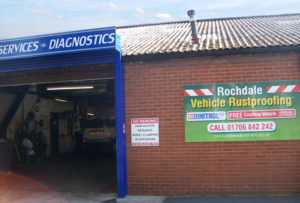 Rust proofing underbody treatment rust convertor DINITROL RC900 DINITROL ML & DINITROL 4941