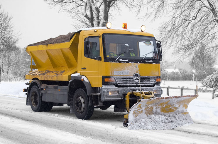 rustproofing treatment application service for salt spreaders and gritters including council maintenance vehicles. Rust treatment and rust prevention coatings
